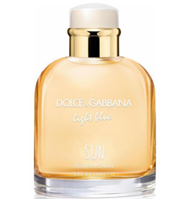 d&g  light blue sun
